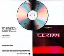 GRINDERMAN No Pussy Blues 2007 UK 2-track promo test CD Nick Cave