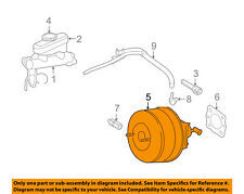 FORD OEM 05-08 Mustang-Power Brake Vacuum Booster 5R3Z2005A
