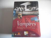 COFFRET 5 DVD NEUF - VAMPIRES MAISONS HANTEES - DUREE 5H