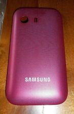 GENUINE SAMSUNG GALAXY Y S5360 PINK HARD REAR CASE COVER BRAND NEW UNUSED