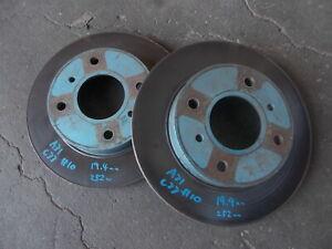 NISSAN A31 CEFIRO C33 LAUREL RB20DET front brake disk rotor 252mm pair sec/h #10