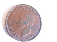 Uk 1937 One Penny Great Britain/Uk Coin King George Vi