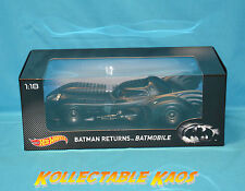 Batman Returns Batmobile Hot Wheels 1 18 Scale Car