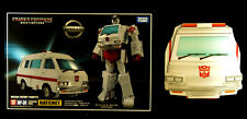 RATCHET TRANSFORMERS 35th MASTERPIECE MP-30 TAKARA TOMY FIGURE AUTHENTIC + COIN