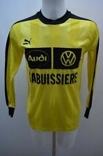 PUMA MAILLOT T SHIRT FOOT FOOTBALL JERSEY  M JAUNE / 1