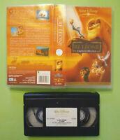 VHS FILM Ita Walt Disney IL RE LEONE Edizione Speciale VS 4996 no dvd cd lp(V44)