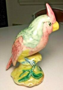 Stangl Pottery Bird #3596 Gray Cardinal Art Figurine MFG Ex Cond