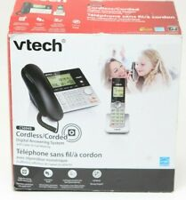 Vtech Single Handset Corded/Cordless Phone CS6949 DECT 6.0 Digital Answering