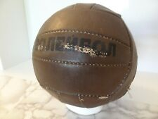 RARE VINTAGE SOVIET RUSSIAN CCCP LEATHER VOLLEYBALL BALL USSR