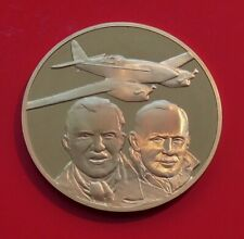 Bronze Medal Medallion RAF Museum London Australia Air Race 1934 Aviation Plane