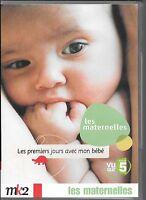 DVD ZONE 2 DOCUMENTAIRE--LES MATERNELLES - LES PREMIERS JOURS AVEC MON BEBE