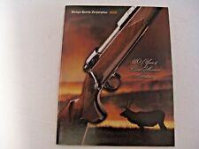 Nos Vintage 2005 Savage Firearms Guns Shooting Hunting Advertising Catalog