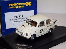 FIAT 850 TC #52 NURBURGRING1961 PROGETTO PK124 1:43