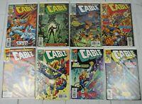Cable #63-70 1999 Marvel Comics Lot of 8 Comics