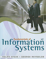 NEW Fundamentals of Information Systems (Book Only) by Ralph Stair