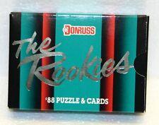 1988 Donruss The Rookies Complete Set & Puzzle MINT NEW
