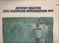 ANTHONY BRAXTON - ALTO SAXOPHONE IMPROVISATIONS 1979 LP