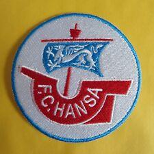 Aufnäher Fußball Football club FC Hansa Rostock Logo patch Bügelbild iron on neu