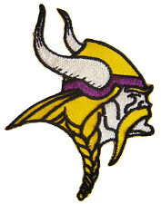 New NFL Minnesota Vikings logo Football embroidered iron on patch. (i47)