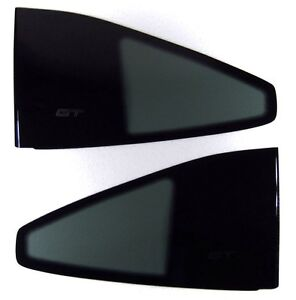 86 87 88 FIERO GT QUARTER WINDOWS SAIL PANEL GLASS SET