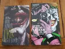 JOKER GRAPHIC NOVELS LOT BATMAN THE KILLING JOKE AND JOKER EX CONDITION
