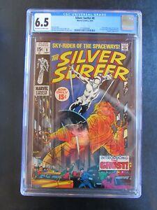 Silver Surfer 8 CGC 6.5 1st 15c 1st Flying Dutchman Mephisto App