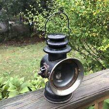 Antique C. 1908 Original Dietz OCTO Auto Carriage Driving Lamp Red Rear Lens