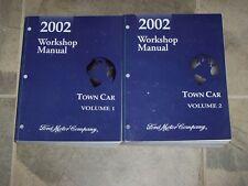 2002 Lincoln Town Car Executive Signature Cartier Workshop Service Repair Manual