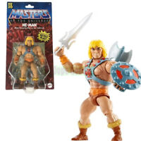 Masters of the Universe MOTU He Man Origins Action Figure with Mini Comic Book