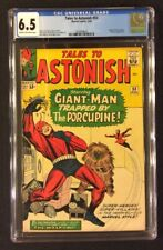 TALES TO ASTONISH #53 Comic CGC 6.5 Marvel 1964 Silver Age PORCUPINE Wasp KIRBY