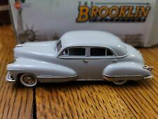 The Brooklin Collection 1:43 1947 Cadillac Series 62 4 Door Sedan French Gray