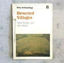 1985 verlassene Dörfer BUCH von Trevor Rowley & John Holz Auenland Archäologie A/F