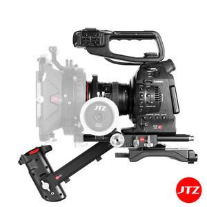 JTZ DP30 Camera Film Cage Baseplate Shoulder Bracket For Canon C100 C300 C500II