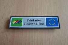 PLAYMOBIL -  Hinweisschild Fahrkarten aus Set 4303 - Bahnhofs-Einrichtung