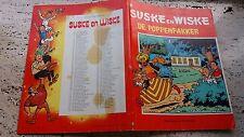 SUSKE EN WISKE  - DE POPPENPAKKER (W VANDERSTEEN)  1980  (NEDERLANDS)