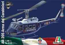 ITALERI 1:48 KIT ELICOTTERO AB 205 ARMA DEI CARABINIERI BICENTENARIO    ART 2739