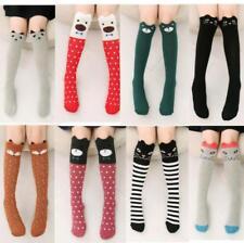 Baby Boys Girls Toddler Kids Child Knee-High Stockings Media Room Socks 3-12Y