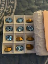Swarovski crystal Loose beads/ Stones 4100--- 14 X 20–mm.  10 Pieces—$10.00