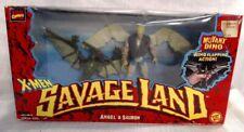 NEW MARVEL COMICS X-MEN SAVAGE LAND ANGELS & SAURON DINO ACTION FIGURE SET! b12