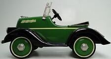 1 1920s Pedal Car A Ford Classic Vintage T Sport Black Fender Midget Model