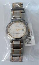 7aab6c68844b Lorus reloj unisex en acero Inox. con fecha modelo Retro vintage