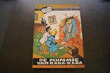 Strip-  Dees Dubbel & Cesar - De mummie van Kaba - Kaba