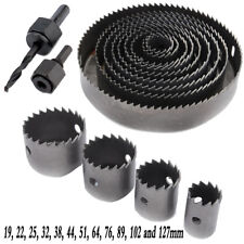 16Pcs/Set Carbide Drill Bits Wood Drills Tapper Hole Saw Tools for Woodworking
