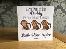 Handmade Personalised Birthday Card Daddy Grandad Pops Granda Gramps Bampi Papa