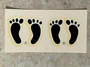 Footprint Water Transfer Small Decal