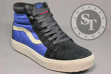 VANS SK8-HI MTE LX VN00019WGM0 THE NORTH FACE BLUE GRAPHITE SURF THE WEB SZ: 8.5