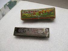 Vintage Harmonica, The Sport, Fr Hotz, Germany with Original Box, Key of G