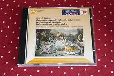 """CD RAVEL """"BOLÉRO, RAPSODIE ESPAGNOLE, LE TOMBEAU..."""" PHIL. ORCH. ORMANDY & MUNCH"""