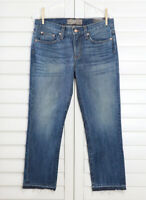 POINT SUR J.Crew NWT $258 Vintage Cropped High Rise Straight Leg Jeans Size 27