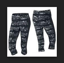 Nike XS Women's Dri Fit  Epic CLASH  Lux Running Capris NEW $105 686032 021 Grey